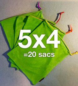 20 ÉcoSacs Carebags®