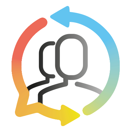 Icône Mutuo en couleur pour les réseaux sociaux