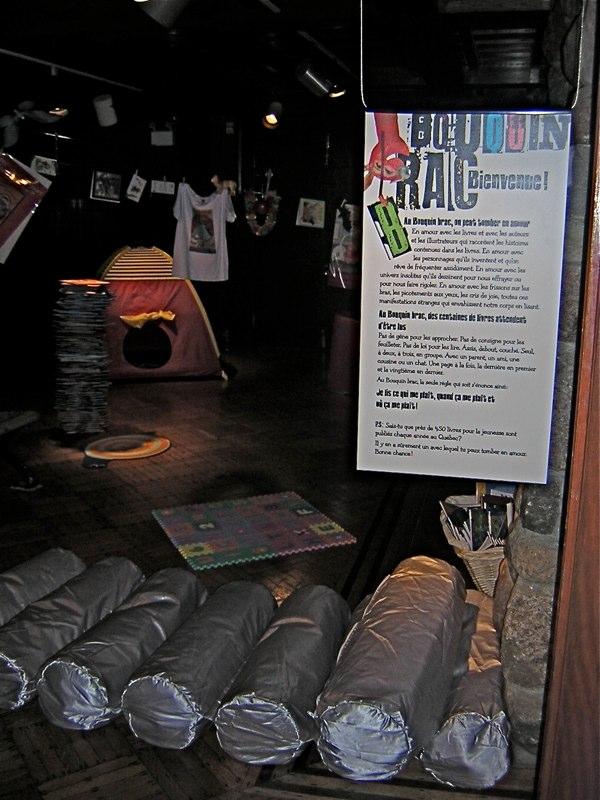 Vue de la salle dee lecture des enfants