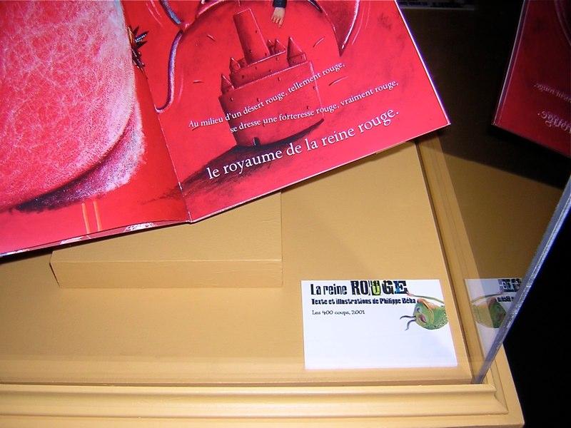 Carton informatif de l'exposition
