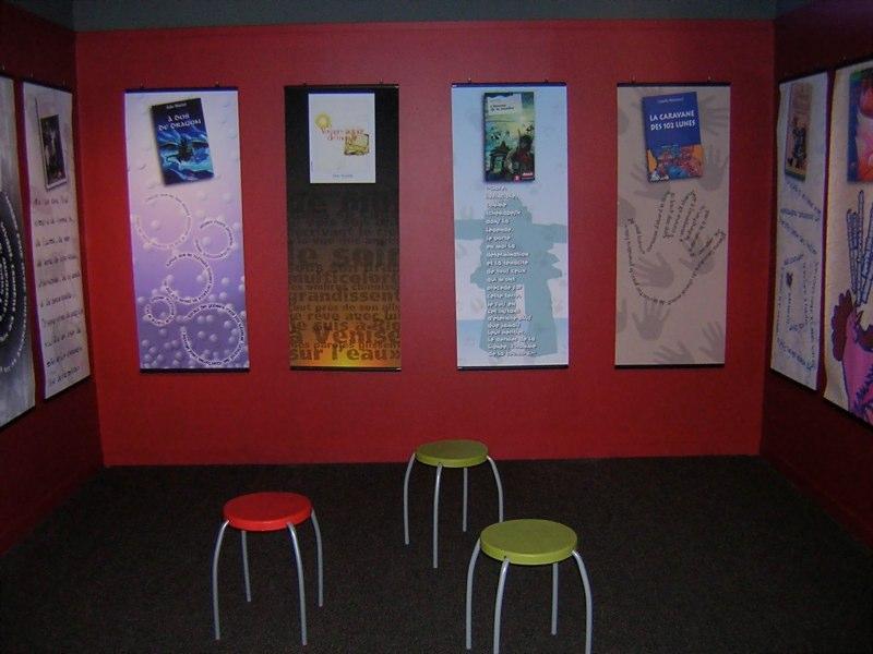 Vue de la salle des auteurs